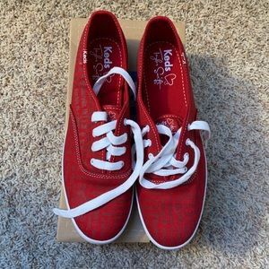 Keds Limited Edition Taylor Swift Red